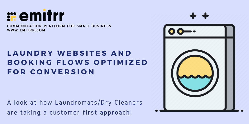 Laundry Website and Booking Flow