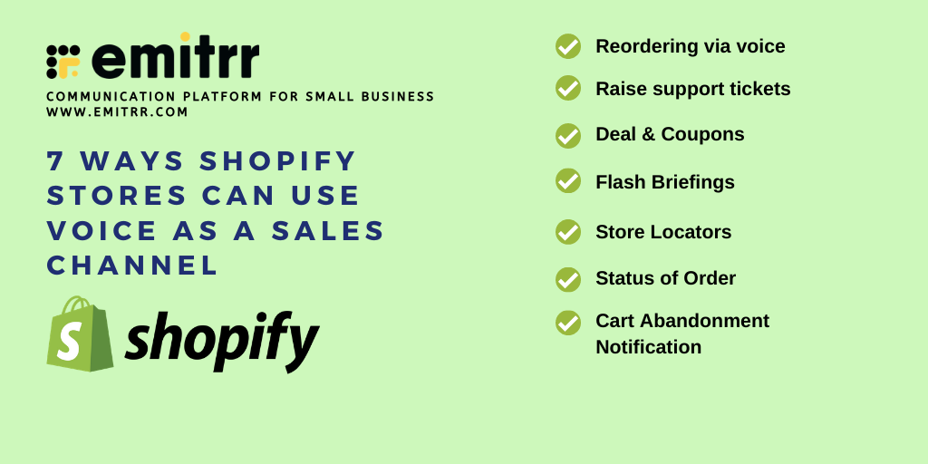 Shopify Voice Sales