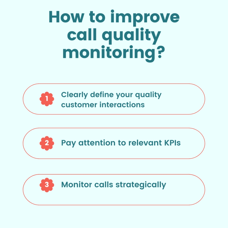 How to Improve Call Quality Monitoring?