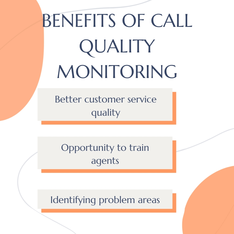 Benefits of Call Quality Monitoring